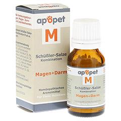 APOPET Schüßler-Salze-Kombination M ad us.vet.Gl. 12 Gramm