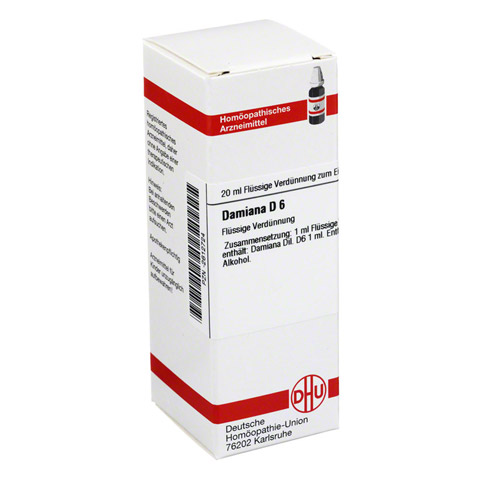 DAMIANA D 6 Dilution 20 Milliliter N1