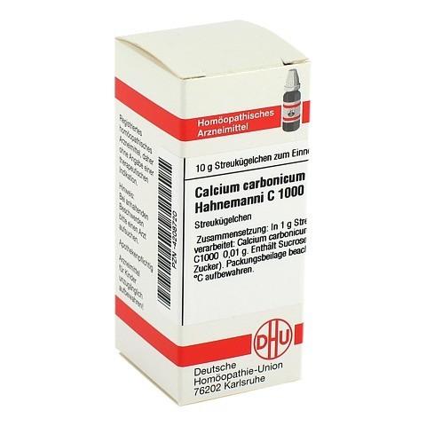 CALCIUM CARBONICUM Hahnemanni C 1000 Globuli 10 Gramm N1