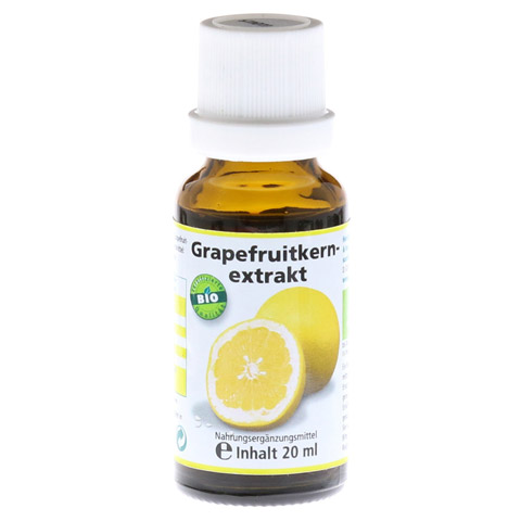 GRAPEFRUIT KERN Extrakt Bio Lösung 20 Milliliter