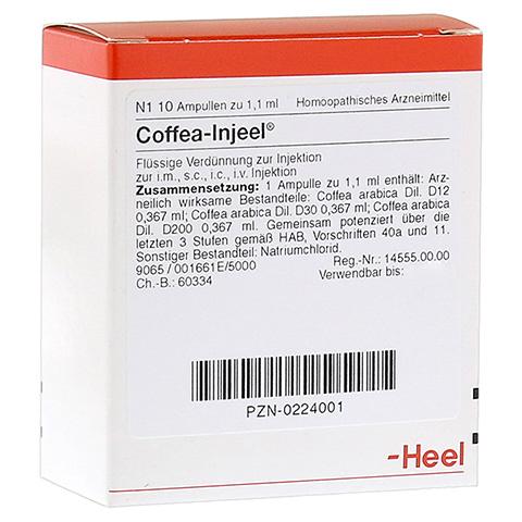 COFFEA INJEEL Ampullen 10 St�ck N1
