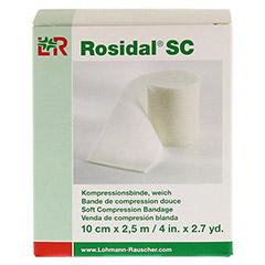 ROSIDAL SC Kompressionsbinde weich 10 cmx2,5 m 1 Stück - Vorderseite