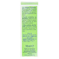 WELEDA Birken Cellulite �l 10 Milliliter - R�ckseite