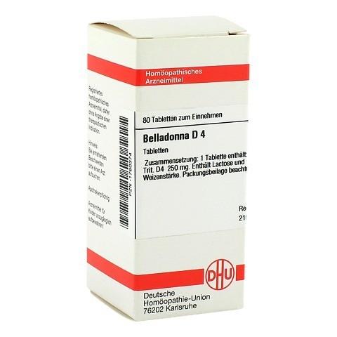 BELLADONNA D 4 Tabletten 80 St�ck N1