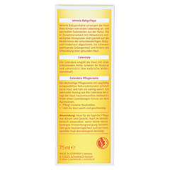 WELEDA Calendula Pflegecreme 75 Milliliter - Rückseite
