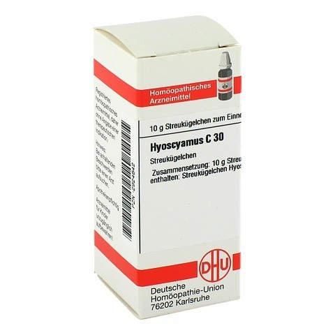 HYOSCYAMUS C 30 Globuli 10 Gramm N1