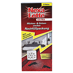 NEXA LOTTE Mückenstecker Nachfüllpackung 20 Stück - Vorderseite
