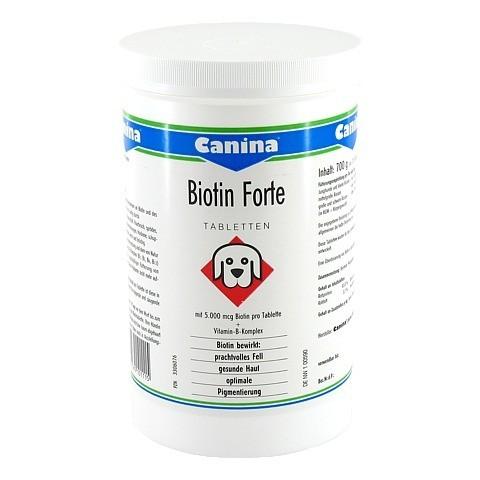 BIOTIN FORTE Tabletten vet. 700 Gramm