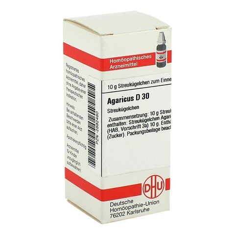 AGARICUS D 30 Globuli 10 Gramm N1
