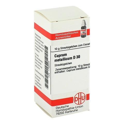CUPRUM METALLICUM D 30 Globuli 10 Gramm N1