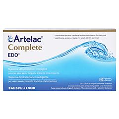 ARTELAC Complete EDO Augentropfen 30x0.5 Milliliter - Rückseite