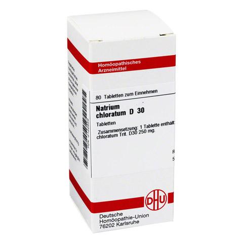 NATRIUM CHLORATUM D 30 Tabletten 80 St�ck