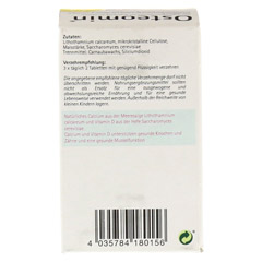 OSTEOMIN Tabletten 100 St�ck - R�ckseite