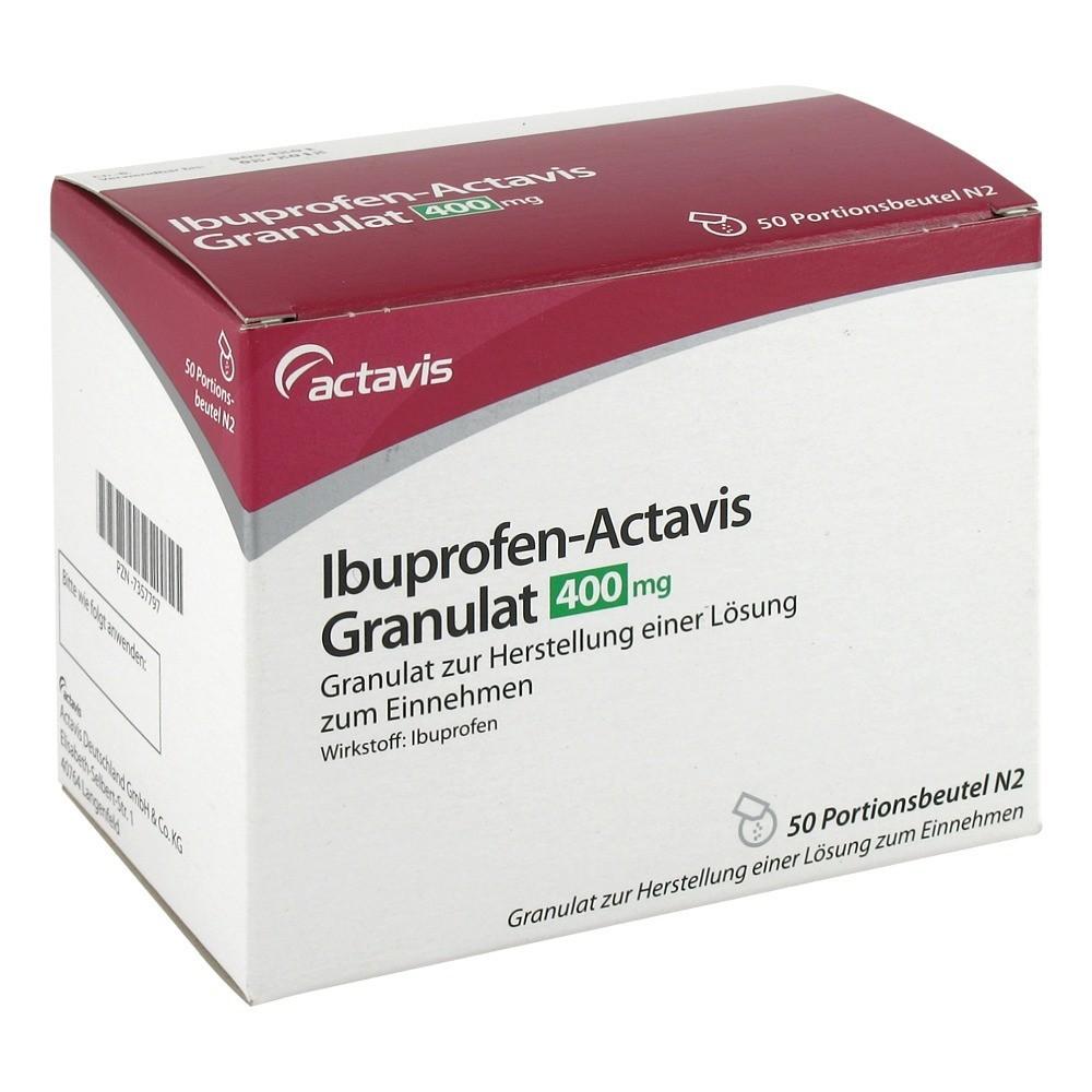 ibuprofen actavis 400mg 50 st ck n3 online bestellen. Black Bedroom Furniture Sets. Home Design Ideas