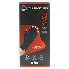 THERMOSKIN Wärmebandage Handschuhe M 2 Stück - Vorderseite