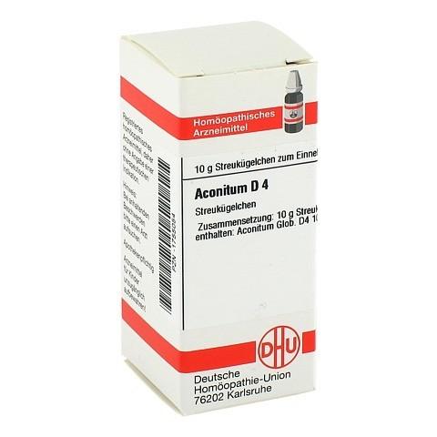 ACONITUM D 4 Globuli 10 Gramm N1