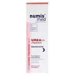 NUMIS med Urea 5% Nachtcreme+Hyaluron 50 Milliliter - Vorderseite