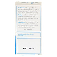 AHC classic Antitranspirant fl�ssig 30 Milliliter - R�ckseite