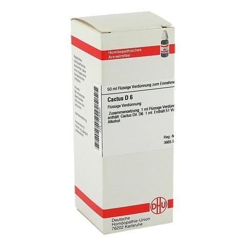 CACTUS D 6 Dilution 50 Milliliter N1