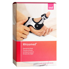 RHIZOMED Daumenorthese links Gr.XS Bandage 1 Stück