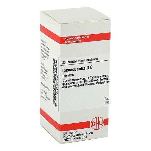IPECACUANHA D 6 Tabletten 80 St�ck N1