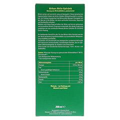 WELEDA Birken Aktiv-Getränk 200 Milliliter - Rückseite