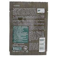 KNEIPP Aroma Pflegeschaumbad Männersache 2.0 50 Milliliter - Rückseite