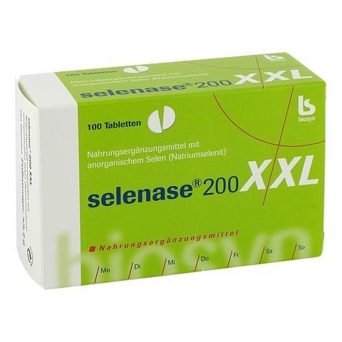 SELENASE 200 XXL Tabletten 100 St�ck