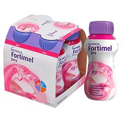 FORTIMEL Jucy Erdbeergeschmack 4x200 Milliliter