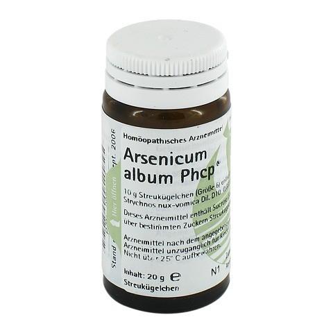 ARSENICUM ALBUM PHCP Globuli 20 Gramm N1