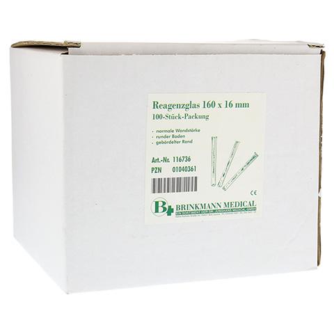 REAGENZGLAS 16x160 mm 100 Stück