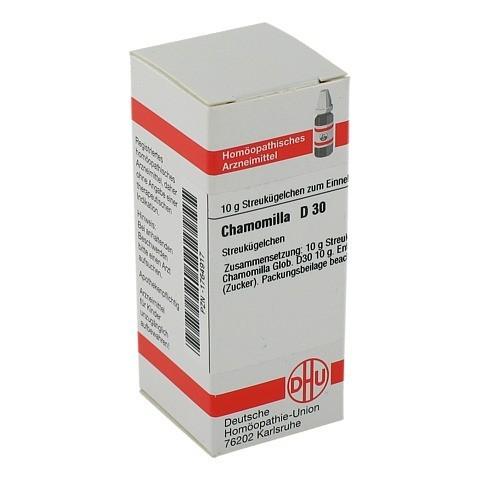 CHAMOMILLA D 30 Globuli 10 Gramm N1