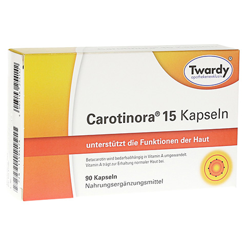 CAROTINORA 15 Kapseln 90 St�ck