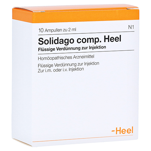 SOLIDAGO COMP.Heel Ampullen 10 St�ck N1