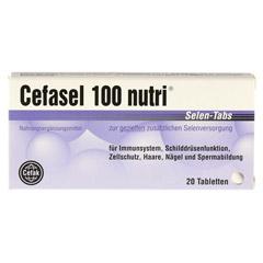 CEFASEL 100 nutri Selen-Tabs 20 Stück - Vorderseite