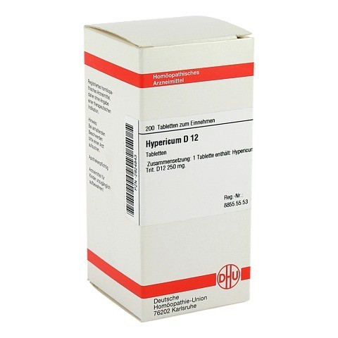 HYPERICUM D 12 Tabletten 200 St�ck N2