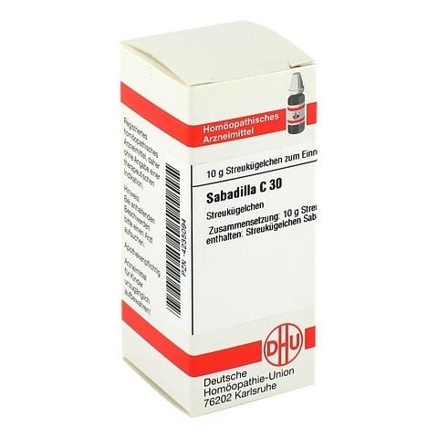 SABADILLA C 30 Globuli 10 Gramm N1