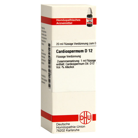 CARDIOSPERMUM D 12 Dilution 20 Milliliter N1