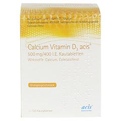 Calcium Vitamin D3 acis 500mg/400I.E. 120 Stück N3 - Vorderseite