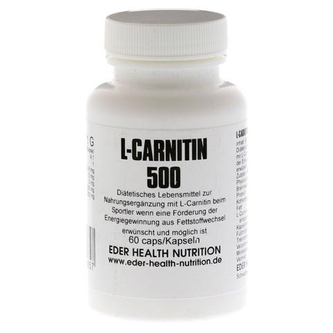 L-CARNITIN 500 Kapseln 60 Stück