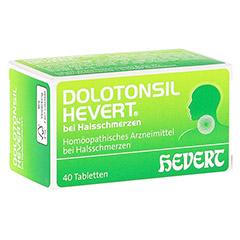 DOLOTONSIL Hevert bei Halsschmerzen Tabletten 40 Stück N1