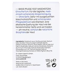 EUBOS FEST blau unparfümiert 125 Gramm - Rückseite