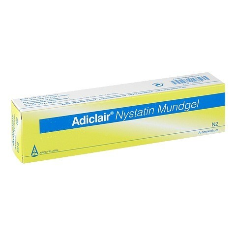 Adiclair Nystatin Mundgel 50 Gramm N2