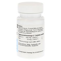 ZINK+VIT.C Synomed Tabletten 50 Stück - Linke Seite