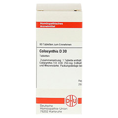 COLOCYNTHIS D 30 Tabletten 80 St�ck - Vorderseite