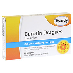 CAROTIN DRAGEES 60 St�ck