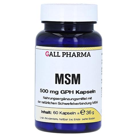 MSM 500 mg GPH Kapseln 60 Stück