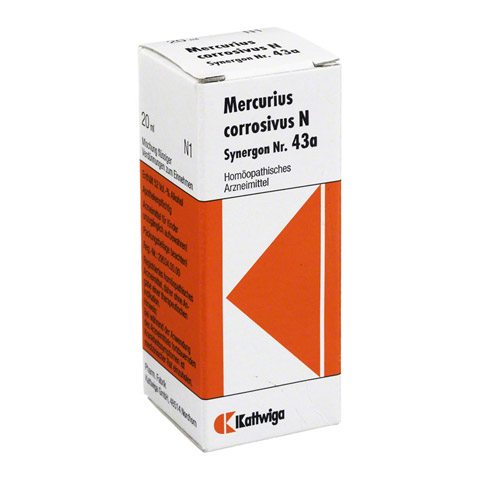 SYNERGON KOMPLEX 43 a Mercurius corrosivus N Tro. 20 Milliliter