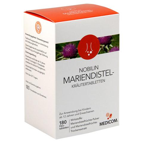 NOBILIN MARIENDISTEL-KR�UTERTABLETTEN 180 St�ck