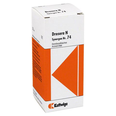 SYNERGON KOMPLEX 74 Drosera N Tropfen 50 Milliliter N1